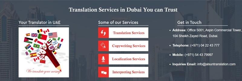 List of the Top Dubai Translation Agencies