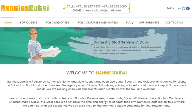 Looking for reliable maid services in Dubai