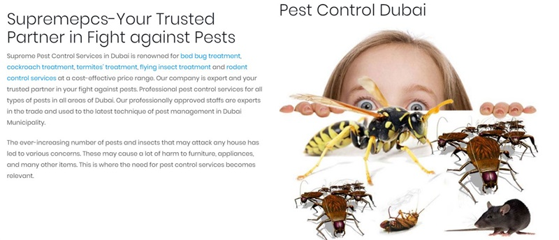 How pest control is done