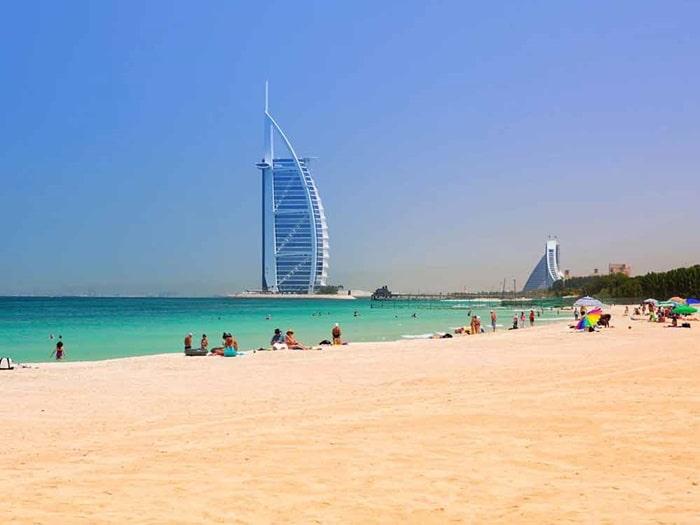 Where should I go in Dubai in summer