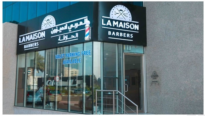 barber shop dubai marina