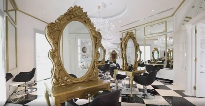 high end beauty salons in dubai