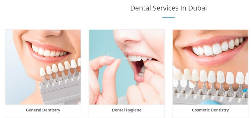 dental care dubai prices