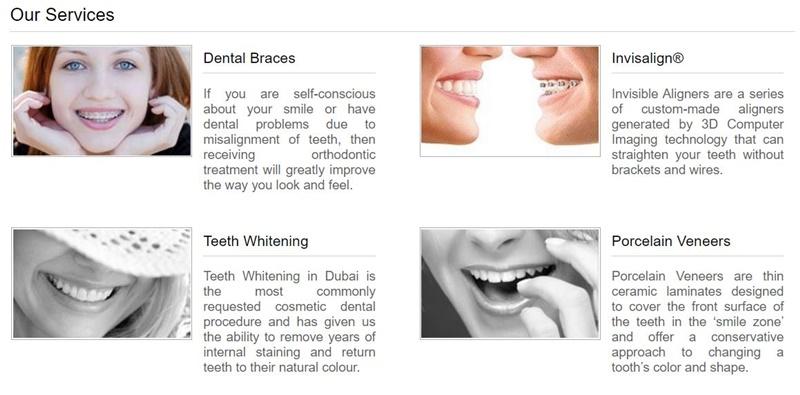 dental clinic in dubai price