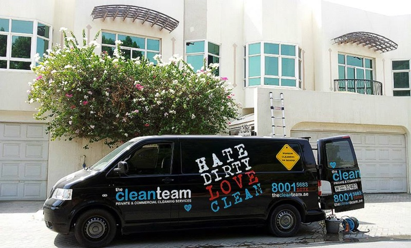 dubai High Rise Building Window Cleaning Services