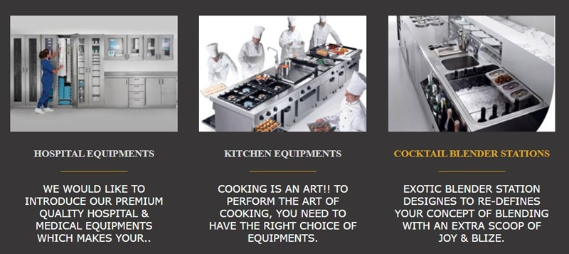 dubai best Restaurant equipment suppliers