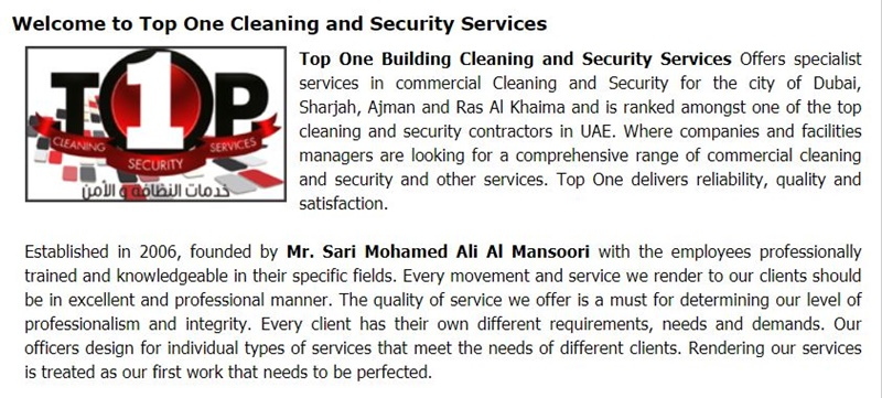 top High Rise Building Window Cleaning Services in dubai